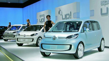 Volkswagen Up Range at Bologna Motor Show