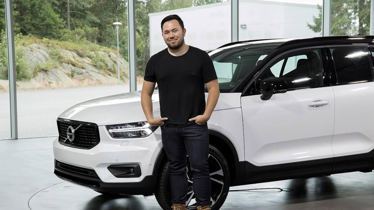 Ian Kettle et le Volvo XC40