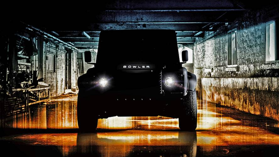 Bowler previews new hardcore V8 Defender