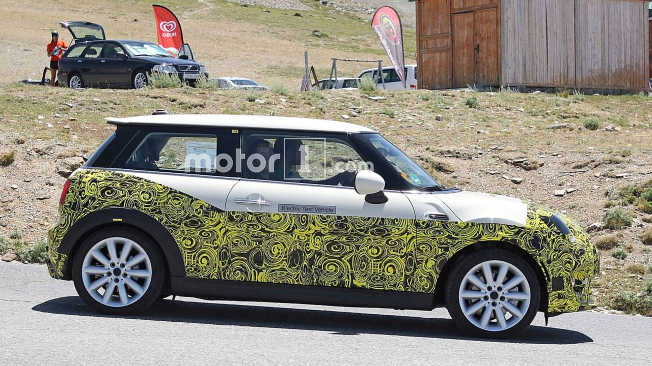 Mini Electric Hardtop Spy Shots