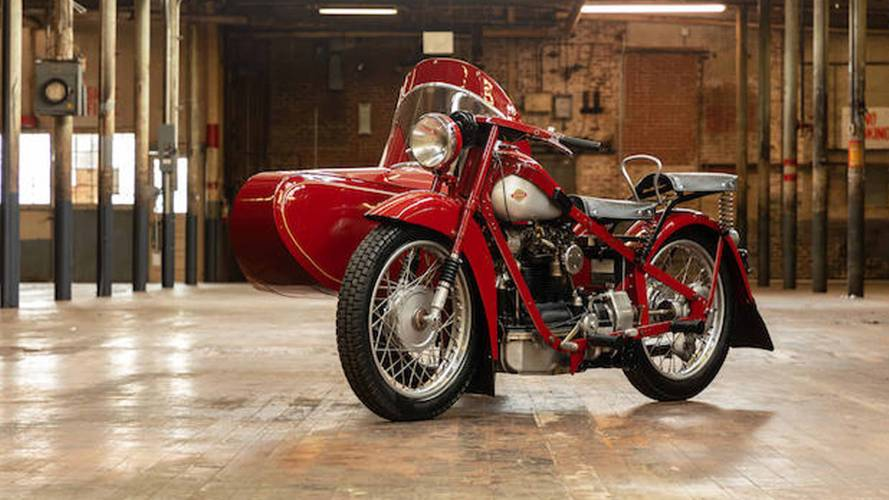 Buy Steve McQueen's Radical Nimbus 750 Sidecar Rig