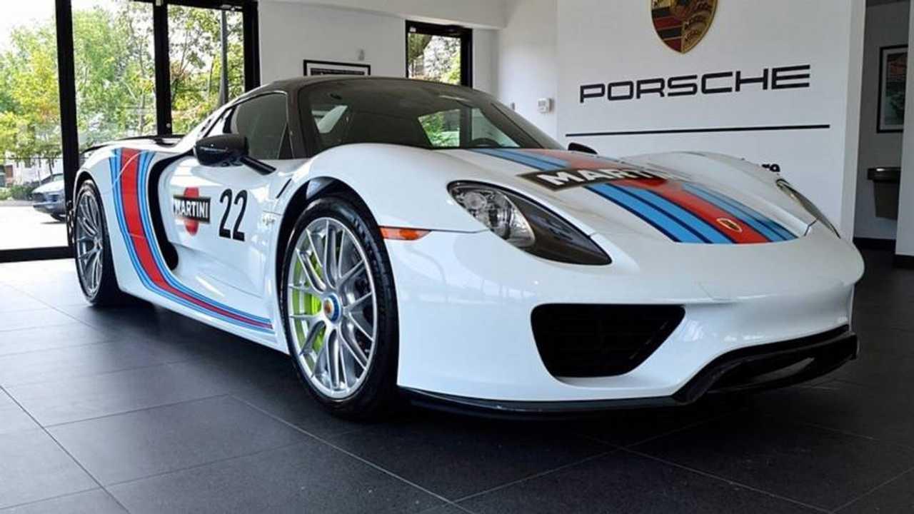 Porsche 918 Spyder Weissach For Sale
