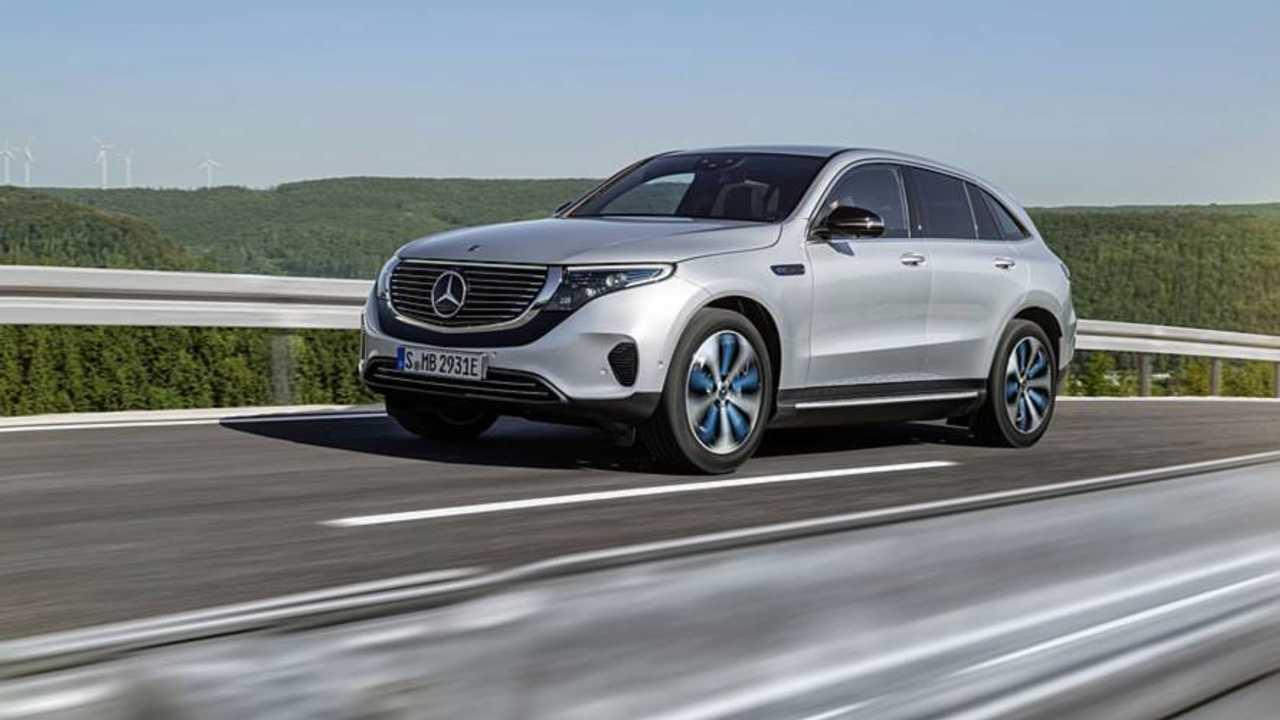Mercedes-Benz EQC Resmi Tanıtım Görüntüleri