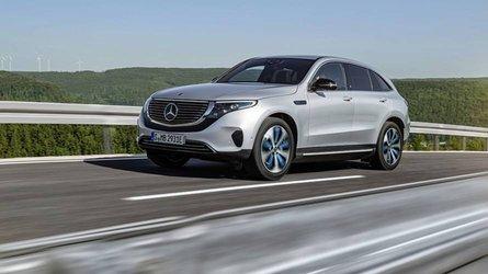 Mercedes-Benz, elektrikli SUV'si EQC'yi tanıttı