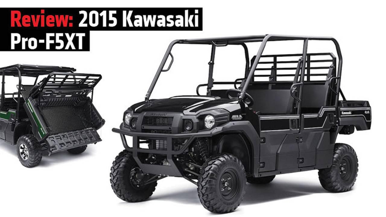 Kawasaki's New MULE PRO-FXT