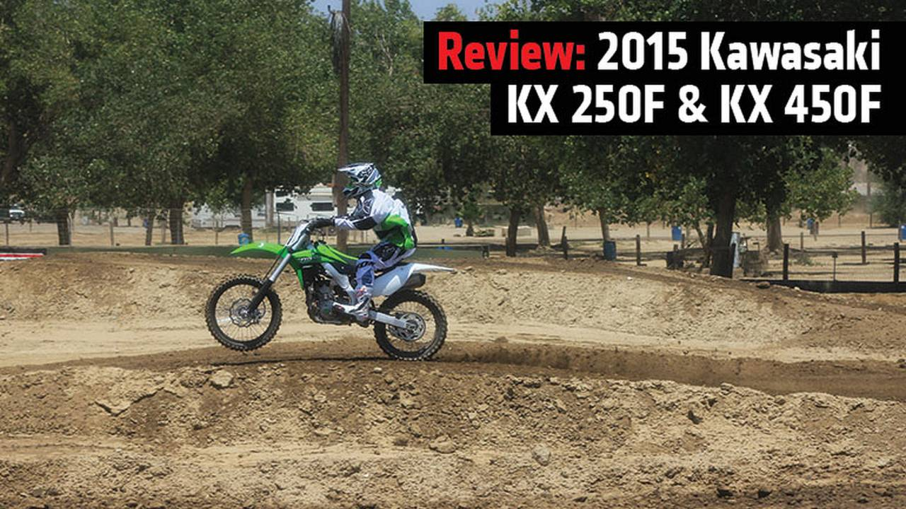 Review: 2015 Kawasaki KX250F & KX450F
