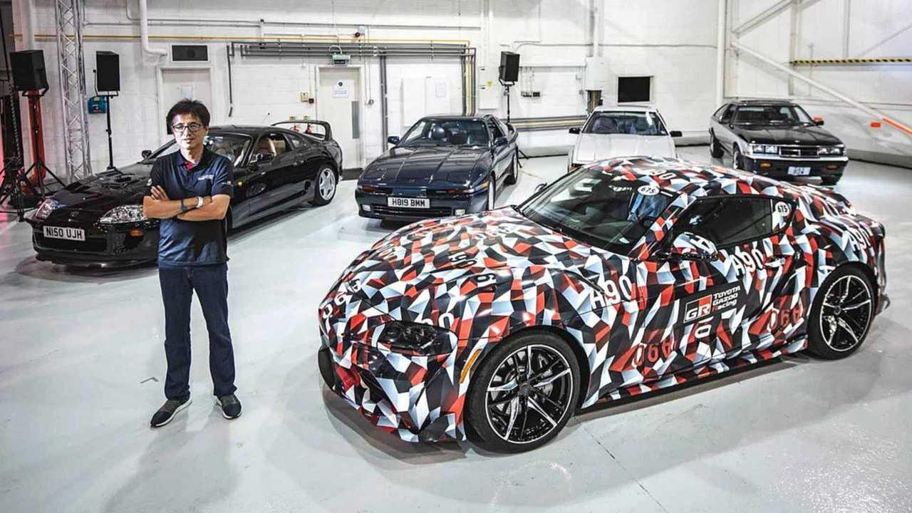 5 generazioni di Toyota Supra