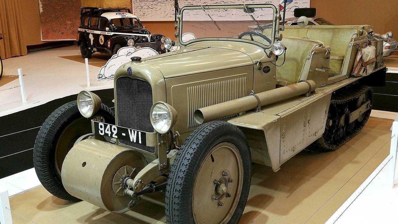 Citroën C4 Autochenille P17 Crosiere Jaune (1930)