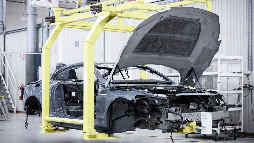 Polestar 1 Prototype Production