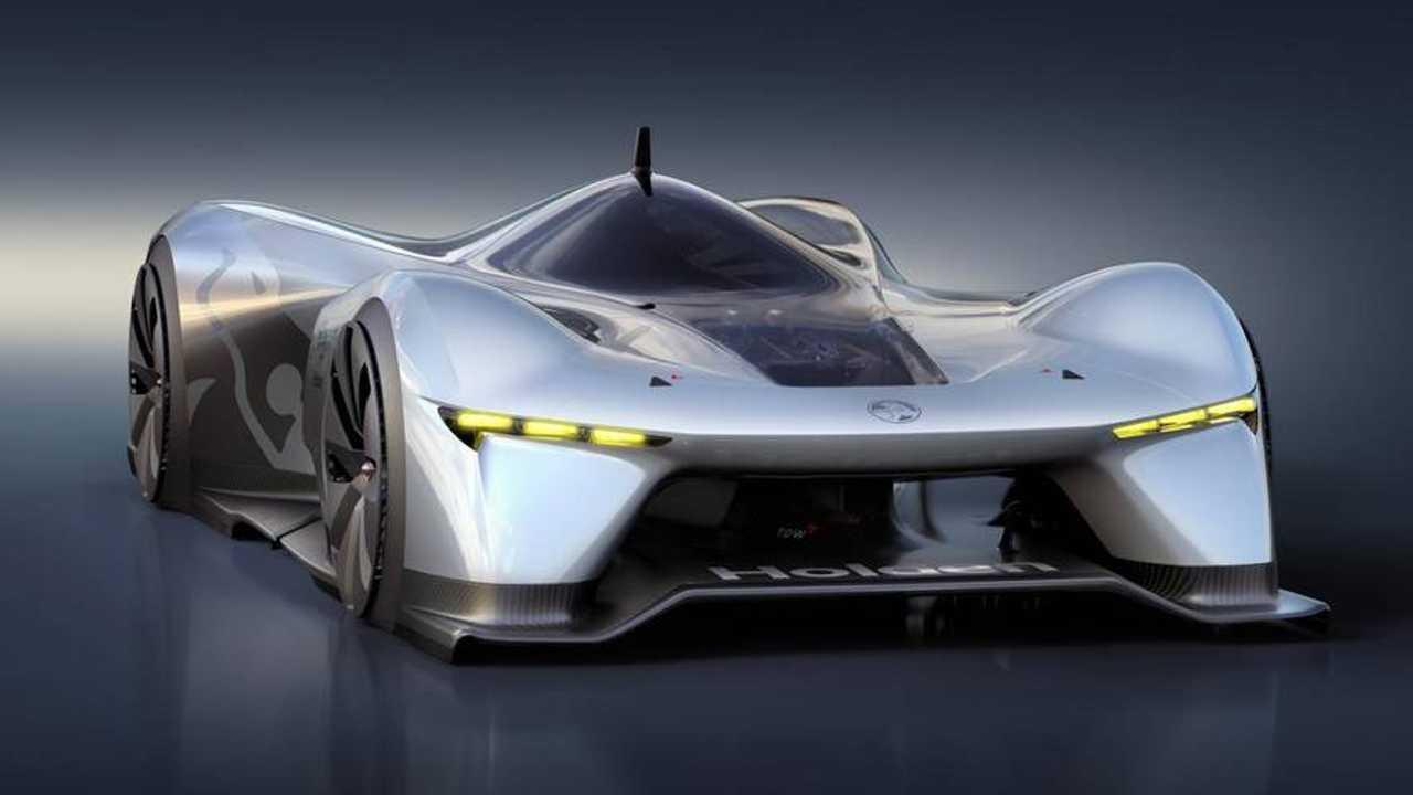 Holden'ın Time Attack Adlı Elektrikli Hiper Otomobil Konsepti