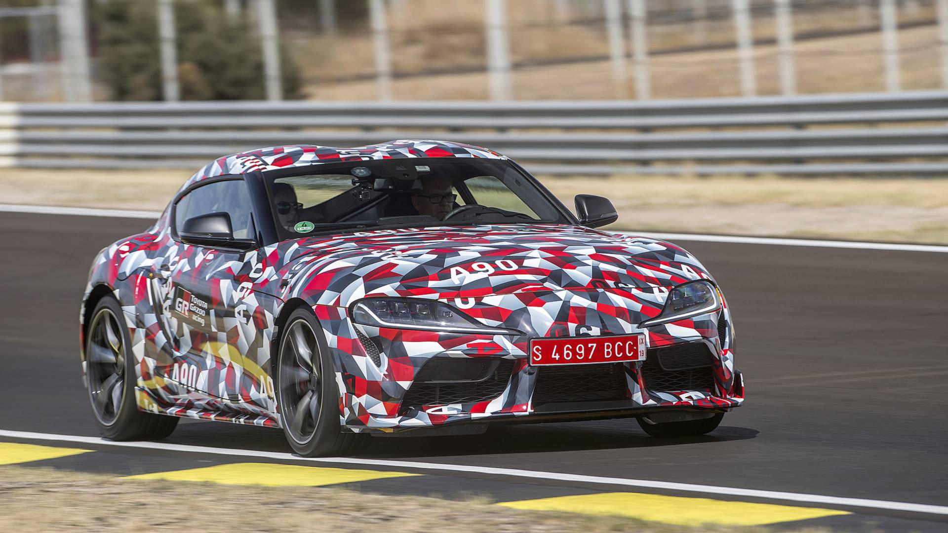 Buy Toyota Supra Camo Wrapping Paper For A Good Cause 9c8bd0e3a0