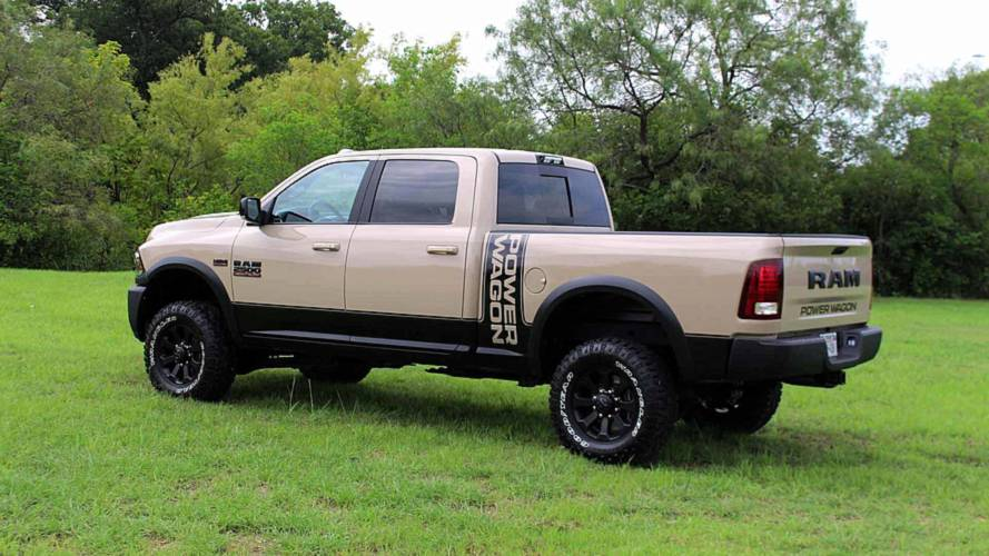 Ram Power Wagon Mojave Sand Edition Adds Dusty Look To Rugged Truck