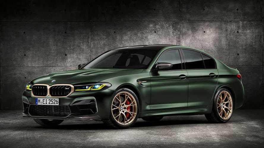 BMW M5 CS (2021) ist die sündteure Sportlimousine der Superlative