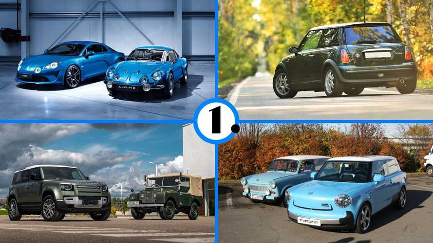 9 Auto-Legenden, die im Retro-Design wiederauferstanden sind