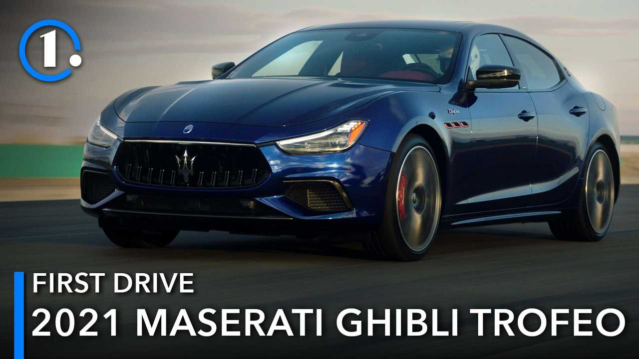 Our first full review of the 2021 Maserati Ghibli Trofeo.