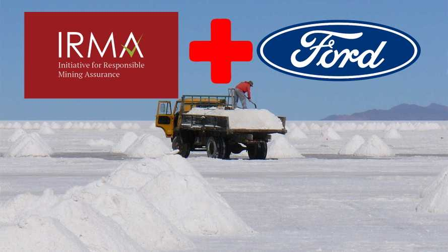 Ford Joins IRMA To Support Responsible Mining Practices For Its EVs