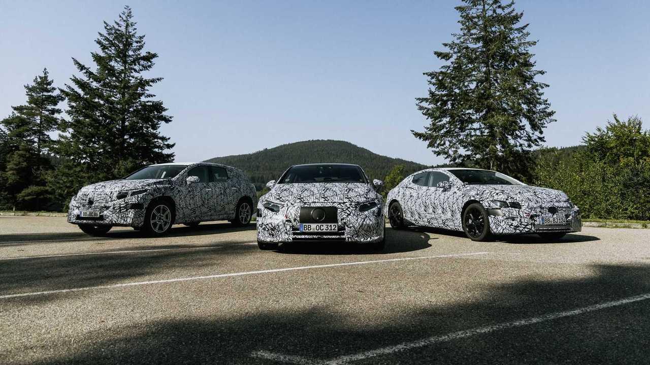 Mercedes elettriche EQ gruppo