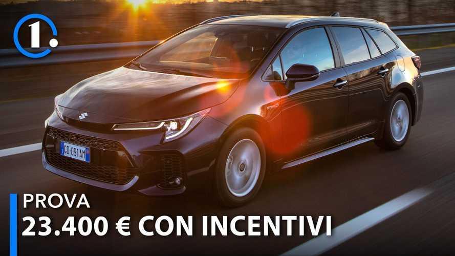 Suzuki Swace, prova della ibrida da 23.400 euro