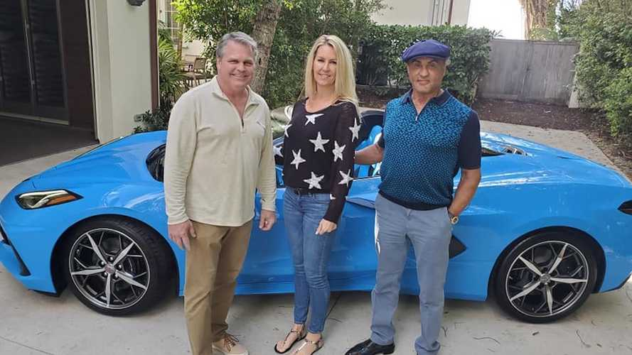 Sylvester Stallone Just Bought A 2021 Chevy Corvette Convertible