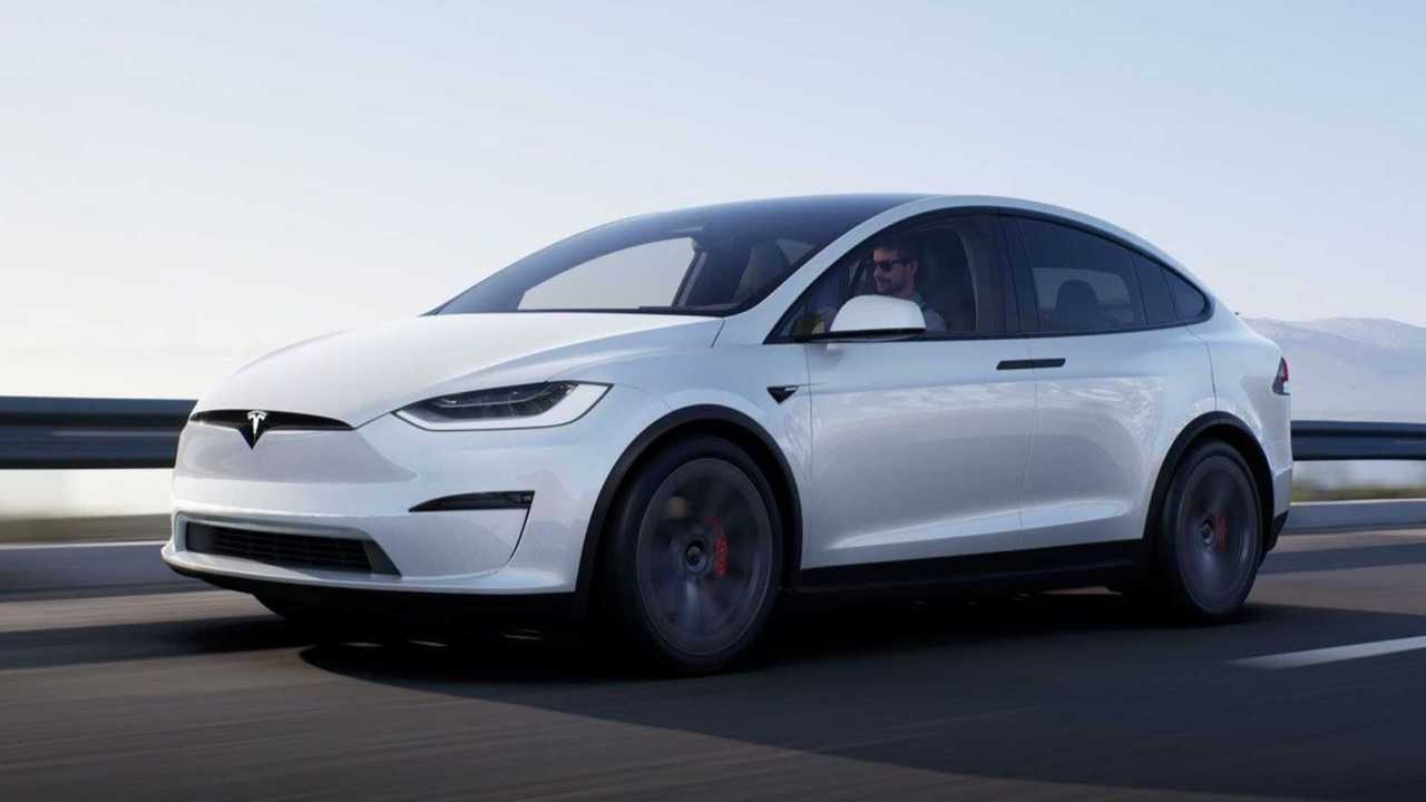 Tesla Model X Facelift