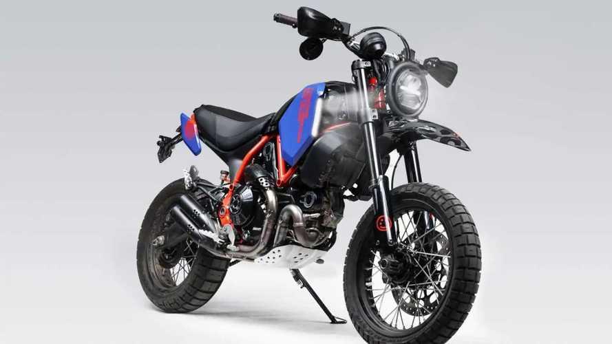 Hookie Co Ducati Scrambler Desert Sled Scorpion Moto Kit