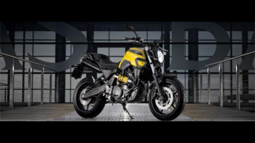 Yamaha MT-03 Extreme Yellow 2009