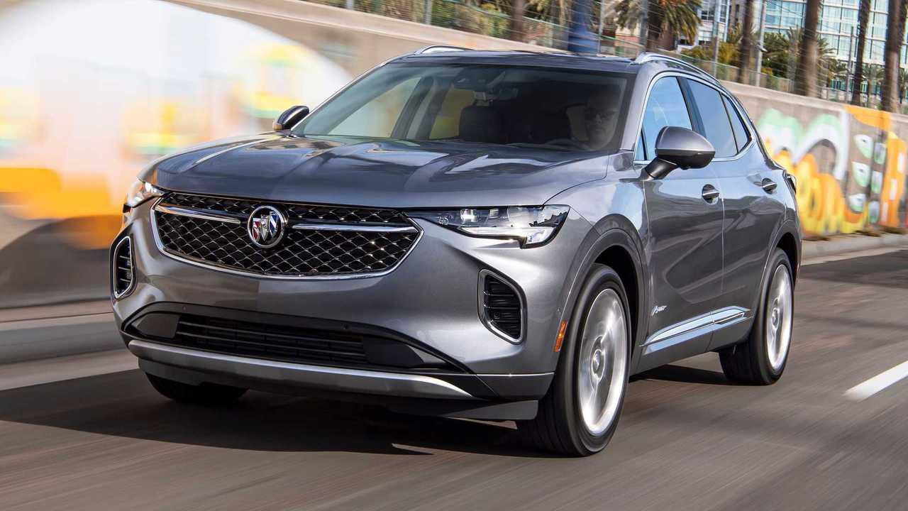 Buick предложил американцам новый Envision – снова из Китая