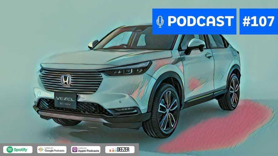 Motor1.com Podcast #107: Novo Honda HR-V está de olho no Corolla Cross?
