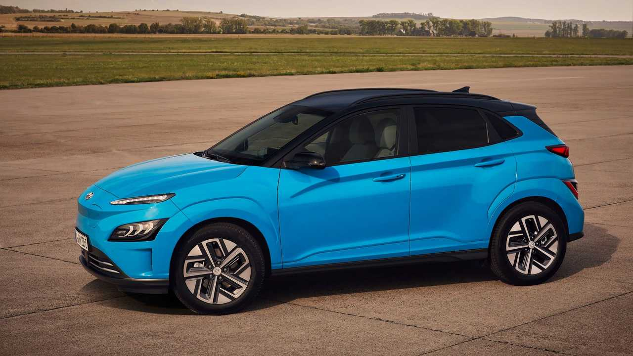 New Hyundai Kona Electric in Europe