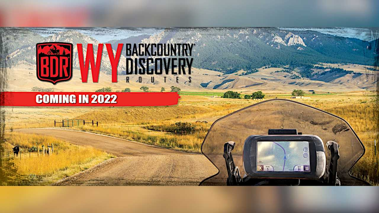 Backcountry Discovery Routes - Wyoming BDR 2022