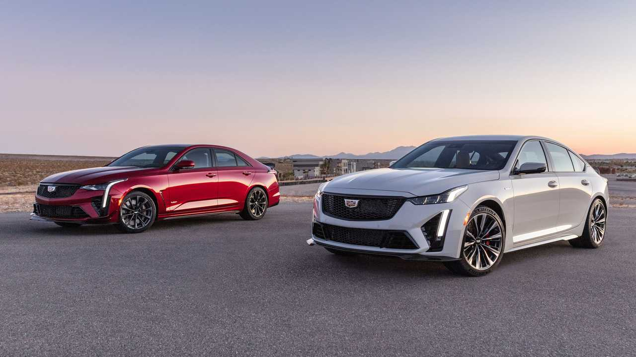 Cadillac CT4-V Blackwing and CT5-V Blackwing preview