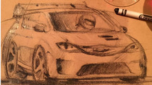Chrysler Pacifica Hellcat drawing
