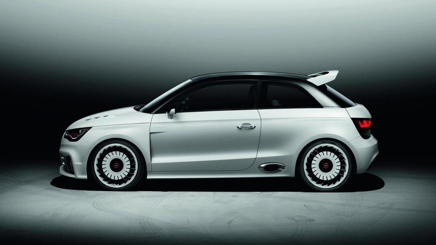 Audi A1 clubsport quattro with 500hp revealed at Wörthersee