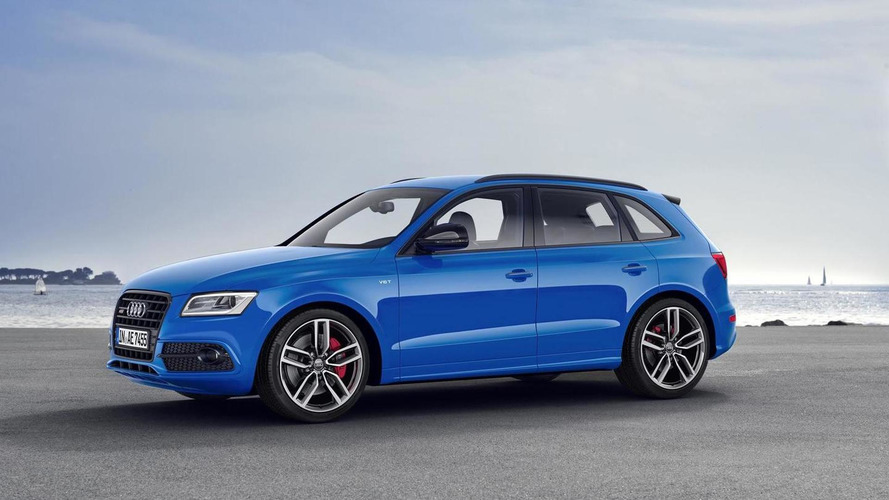 Audi SQ5 TDI plus brings diesel power to IAA