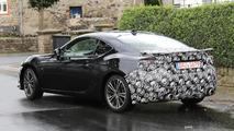 2017 Toyota GT86 facelift spy photo