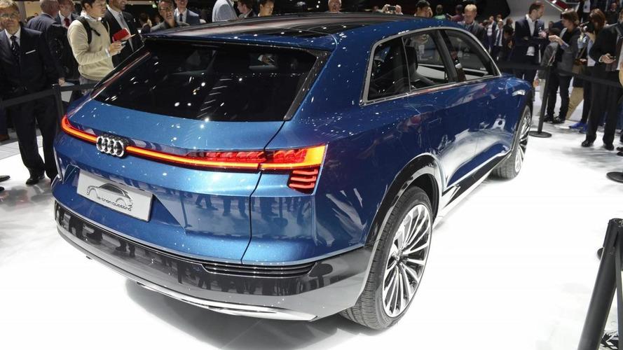 Audi e-tron quattro konsepti, Frankfurt 2015