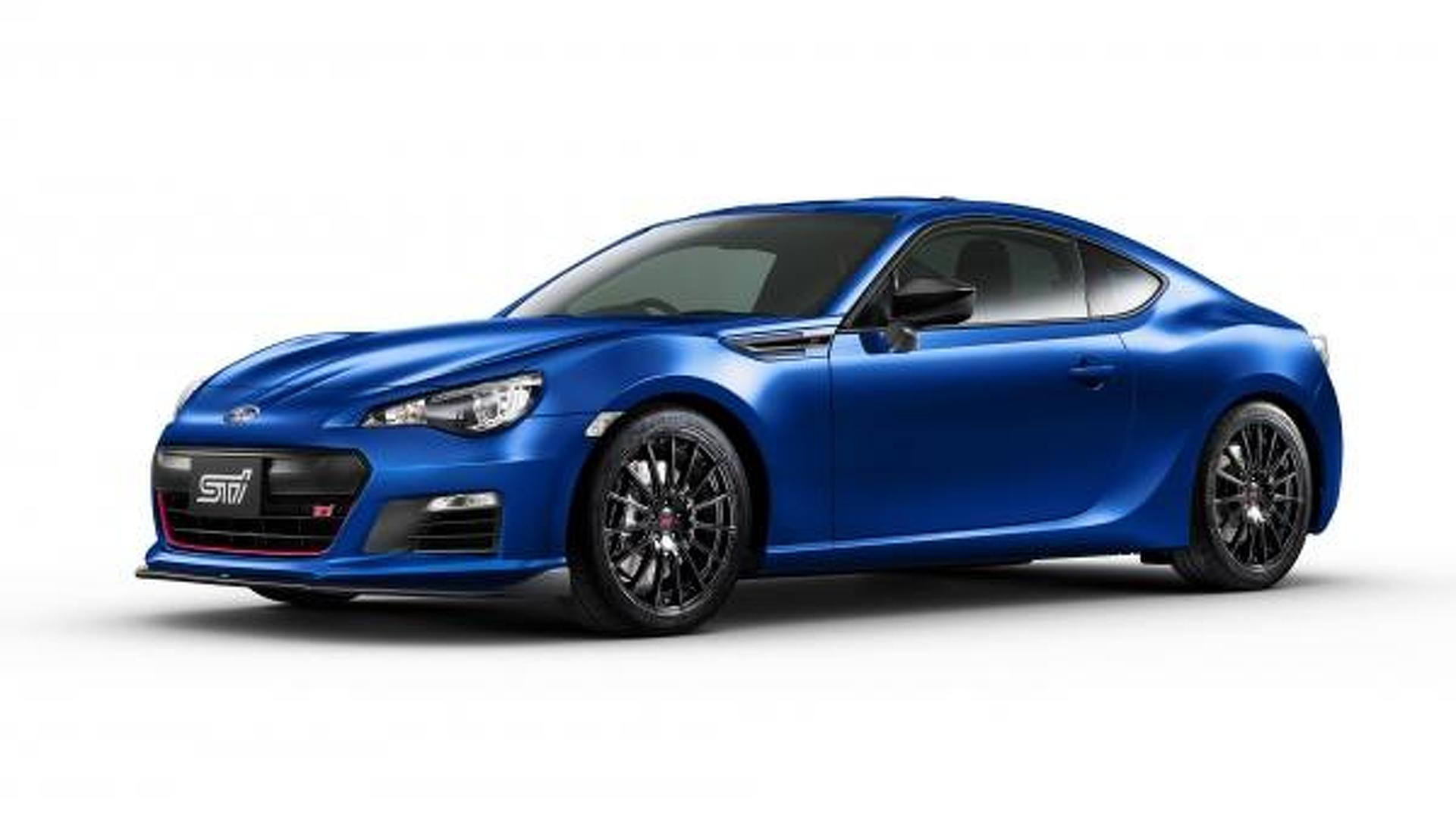 2015 Subaru BRZ tS STI launched in Japan with several