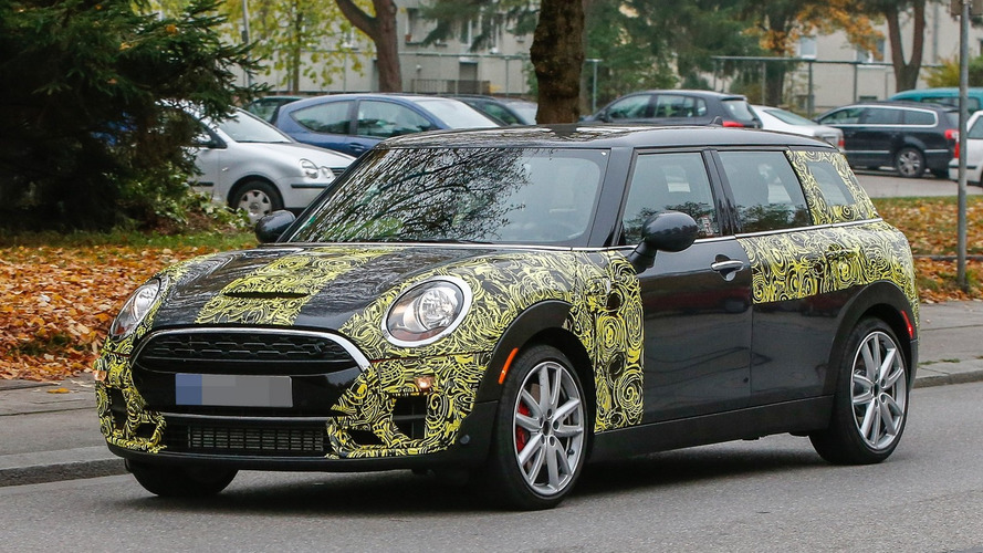MINI spied testing out the upcoming Clubman John Cooper Works