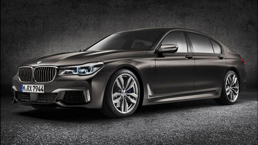 BMW M760Li xDrive, l'ammiraglia da 600 CV [VIDEO]