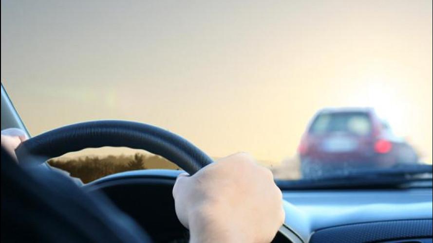 Guida imprudente, la velocità non conta