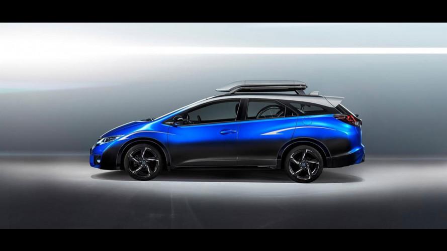 Honda Civic Tourer Active Life Concept, per chi ama pedalare