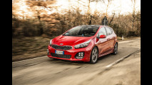 Kia cee'd 1.0 turbo benzina: la prova delle