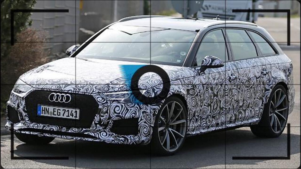 [Copertina] - Nuova Audi RS 4 Avant, prime immagini della sportiva