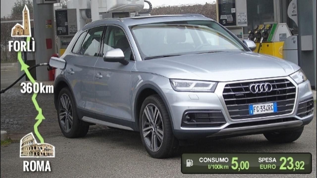 [Copertina] - Audi Q5 TDI, la prova dei consumi reali