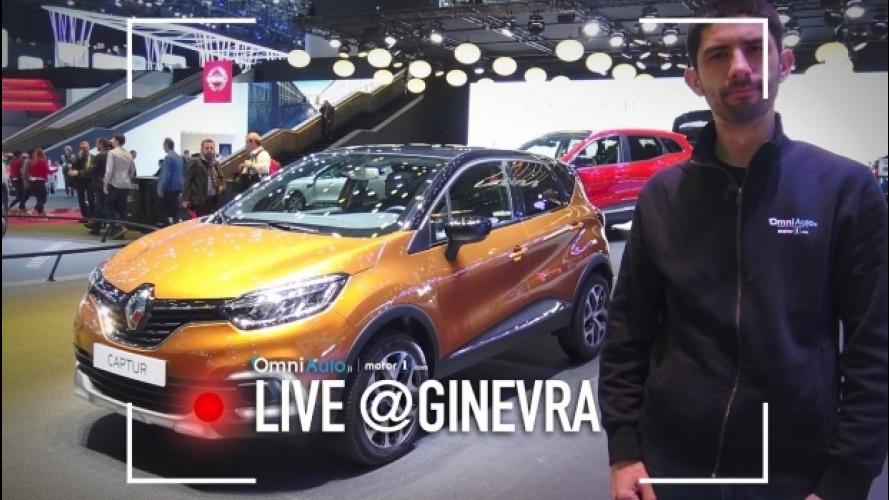 Salone di Ginevra, la Renault Captur si rifà il trucco [VIDEO]