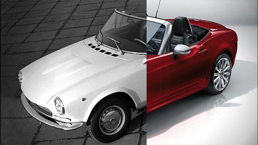 Fiat 124 Spider, meglio classica o moderna?