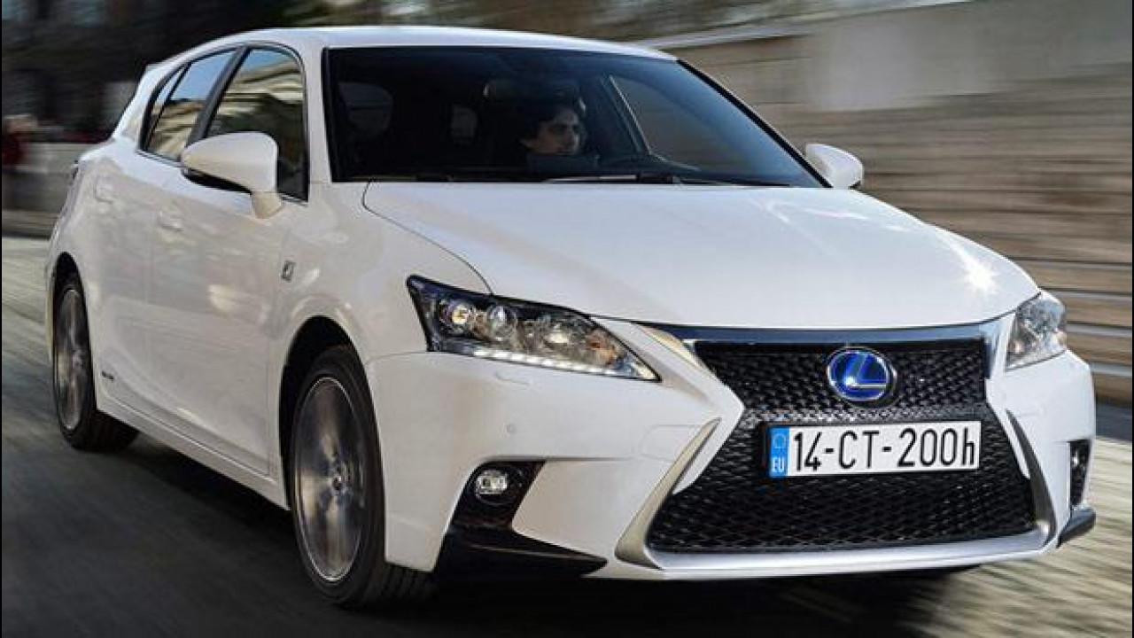 [Copertina] - Lexus CT Hybrid: carattere da Prius, prezzo mai visto