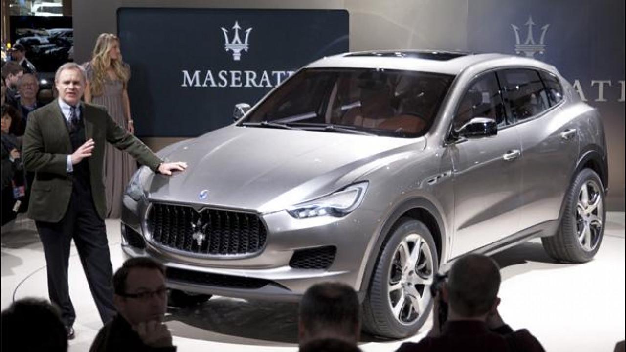 [Copertina] - Maserati, no ad un SUV più piccolo del Levante