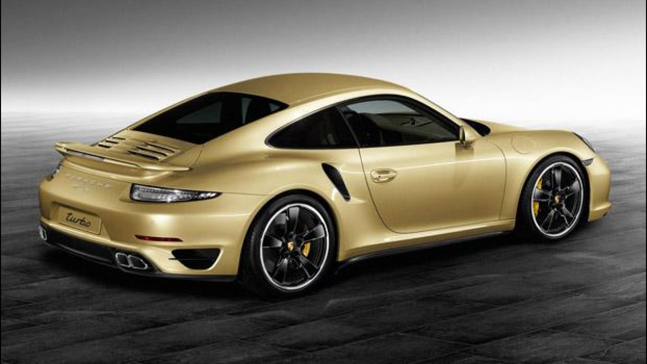 [Copertina] - Porsche Exclusive 911 Turbo Lime Gold