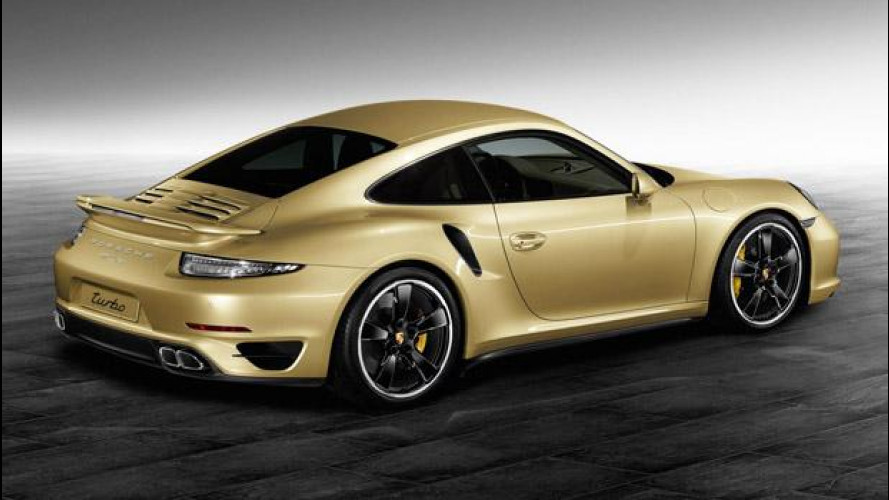 Porsche Exclusive 911 Turbo Lime Gold